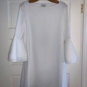 Bebe white cocktail dress